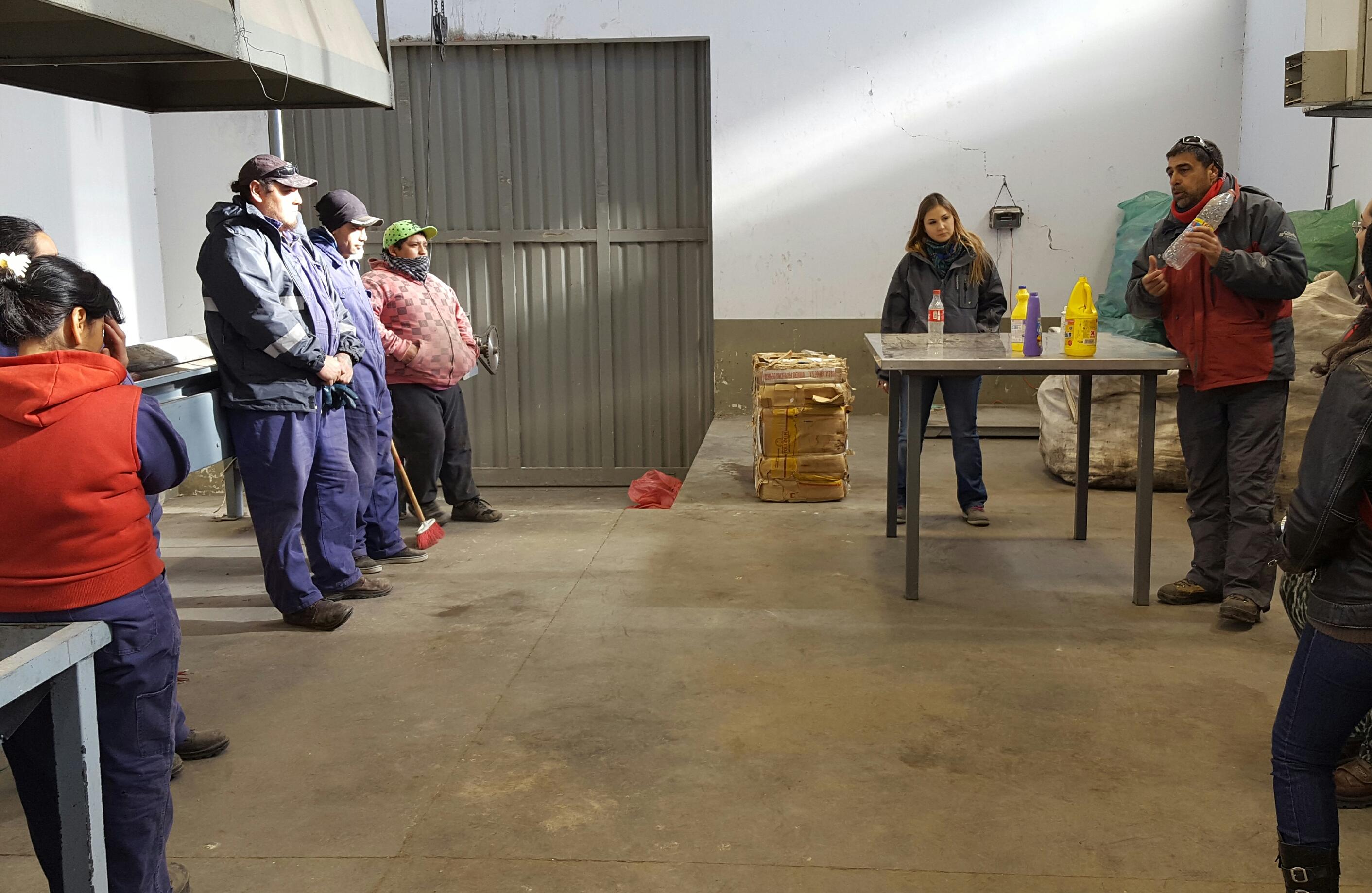 AMBIENTE REALIZA CONTÍNUO SEGUIMIENTO DE PLANTAS DE SEPARACIÓN DE RESIDUOS DE TECKA Y GOBERNADOR COSTA