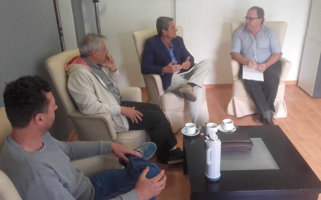 El Ministerio de Ambiente se reunió con el Consejo Profesional de las Ciencias Agropecuarias del Chubut para proyectar trabajos en conjunto durante el 2019.