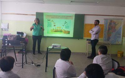 Provincia dio una Charla para los participantes del taller Guardianes Ambientales