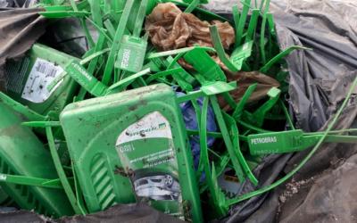 Ambiente realiza acciones y controles ante denuncia por inadecuada gestión de residuos peligrosos.