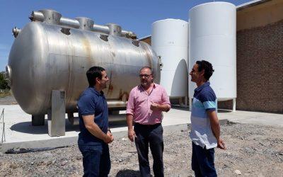 Arzani recorrió las instalaciones de la empresa Patagonian Sea Secret